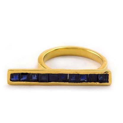 Picture of Sapphire Bar Ring